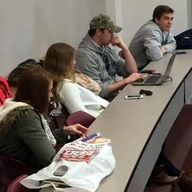 CIB holds first member meeting of thesemester