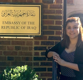 CIB analyst recounts Iraq Embassy internship experience