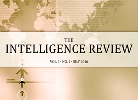 CIB, EIA, publish first issue of The Intelligence Review