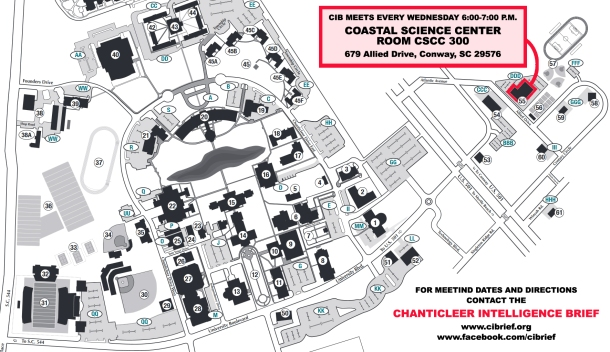 2016 Fall Meetings Map