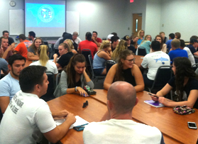 First CIB meetings of the semester see record attendance