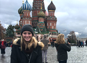 CIB analyst refines skills by studying in Russia