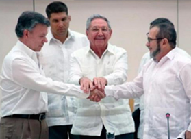 Colombia meeting may lead to speedier implementation of peaceprocess