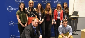 CIB officers participate in European Union simulation in NewYork