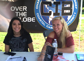 CIB signs up new members in fall 2017 club recruitmentday