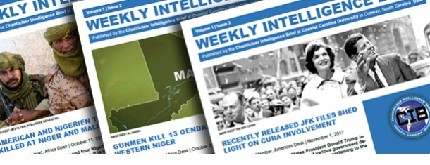 Weekly Intelligence Brief