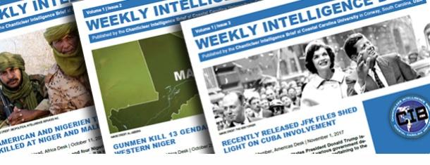 Weekly Intelligence Brief