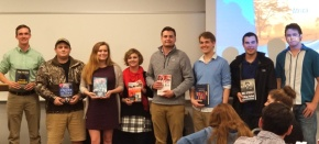 Fourth CIB Banquet recognizes semester's hardwork
