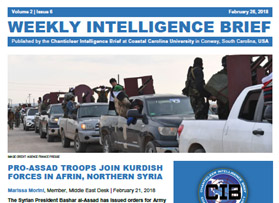 Latest issue of Weekly Intelligence Brief now available