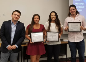 Fifth CIB Banquet celebrates semester's hard work