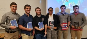 Sixth CIB Banquet celebrates semester's hard work