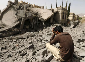 Threats by warring sides indicate potential failure to reach peace inYemen