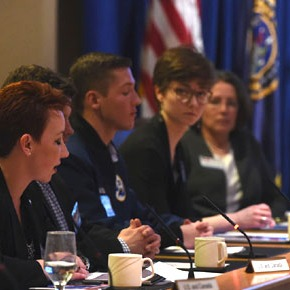 CIB officers present research at US Strategic Command conference