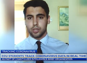 CBS News 13 features CIB's COVID-19 Intelligence Project