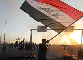 Iraqi demonstrations set to resume on the one-year anniversary of the 'October Revolution'